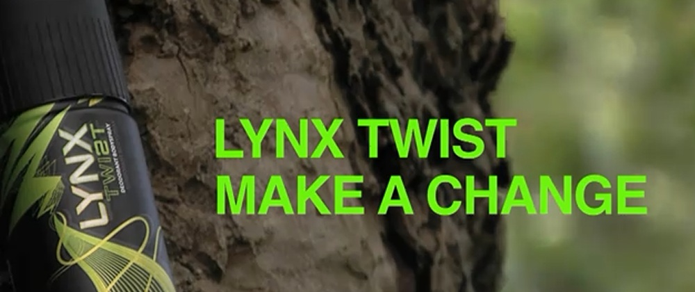 Lynx Twist commercial